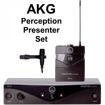 AKG WMS 45 Perception Presenter set