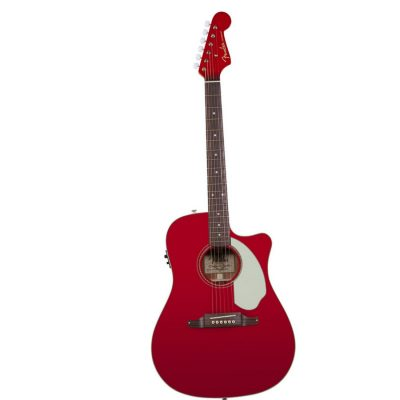 Fender Sonoran Candy apple red