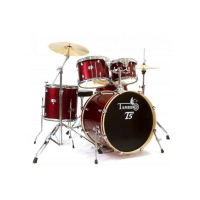 TAMBURO T5M22RSSK RED SPARKLE
