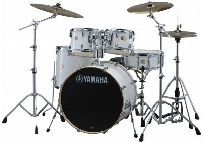 Yamaha Stage Custom Pure White