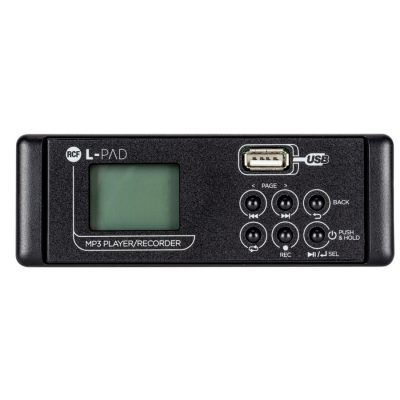 RCF -PAD PLAYER RECORDER CARD